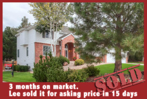5  3 months on market. Lee sold it for asking price in 15 days