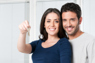 Young Couple who are first-time home buyer