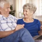 Seniors using Computer